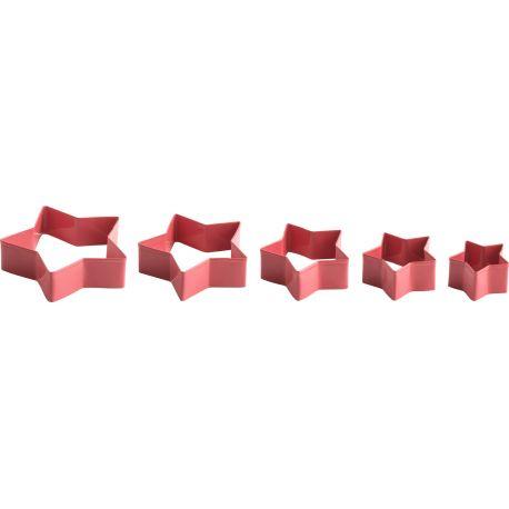Ensemble de 5 emporte-pièces Corail - Trudeau