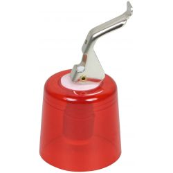 BOUCHON A LEVIER CLOCHE ABS rouge