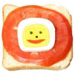 Oeuf carré Egg CUBER pour des œufs carrés