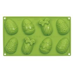 Moule Œufs de Pâques Pavonidea «OvetteHappy Easter» 14cm