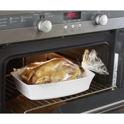 Sachet de cuisson 38x25cm + 20 liens – Résiste à 220°