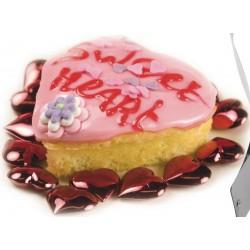 Cadre à pâtisserie réglable en forme de cœur