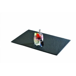 Ardoise rectangle pour le repas 20x15 par 4 unités