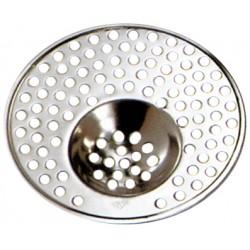 Grille/Filtre évier lavabo douche baignoire géante 11cm