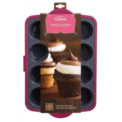 Petit moule 12 muffins trudeau comptoir de lise for Accessoires cuisine trudeau